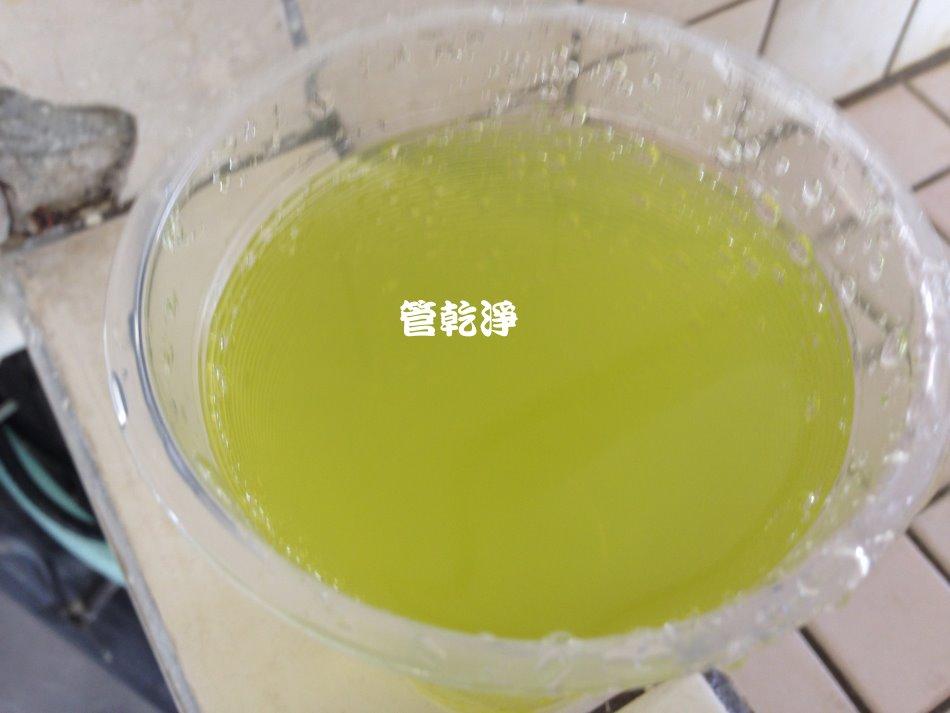 水龍頭流出柳橙汁?(新竹 竹東 中豐路二段 清洗水管)