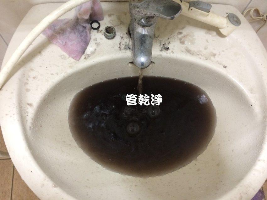 水龍頭堵住? 竹北 隘口老街 清洗水管