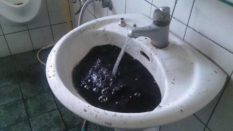 香山福樹街 洗水管