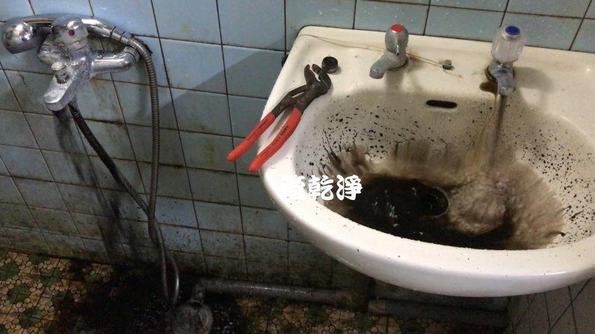 開關一轉就有石油? 台中 龍井 自強路 洗水管