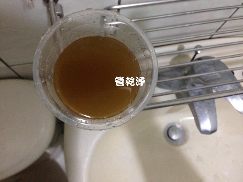 水龍頭流出青草茶? (新竹 福樹街 洗水管 )