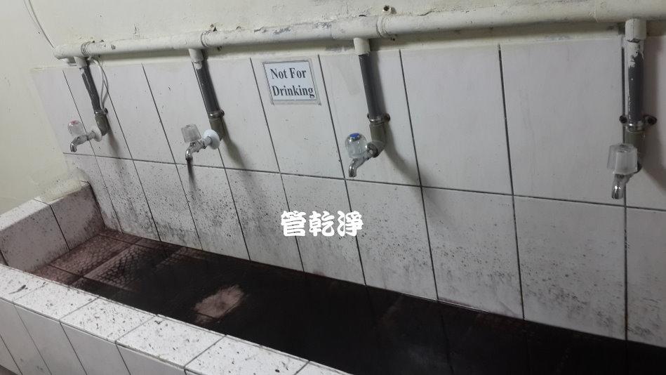 水龍頭流出仙草茶?(新竹 公園路 水管清潔 )