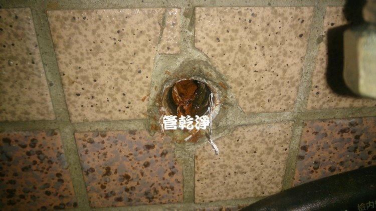 台北新莊 洗水管 我家水管裡有貴金屬