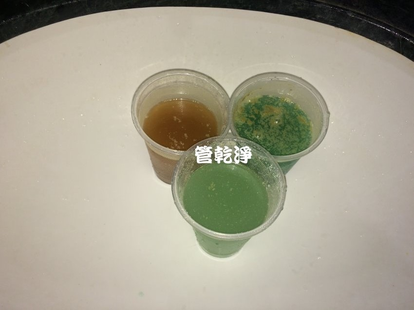 恐怖!!水龍頭流出萊姆汁?台中北區 忠太東路 清洗水管