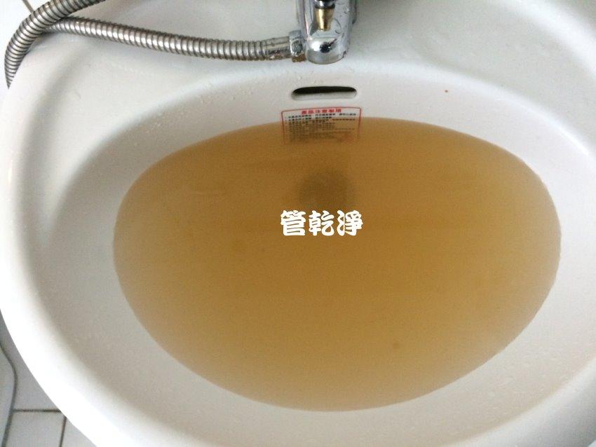 水管堵住? 台中 南屯 大英街 洗水管