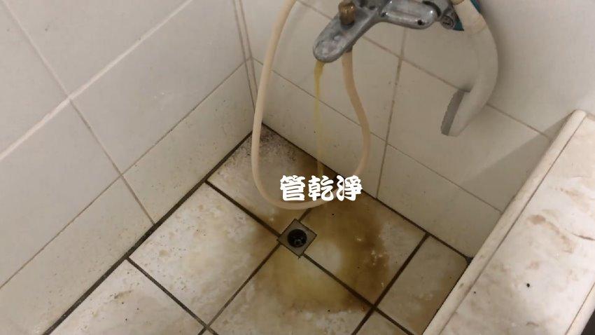 熱水出水用滴的? 台北 萬華 西園路 水管清洗