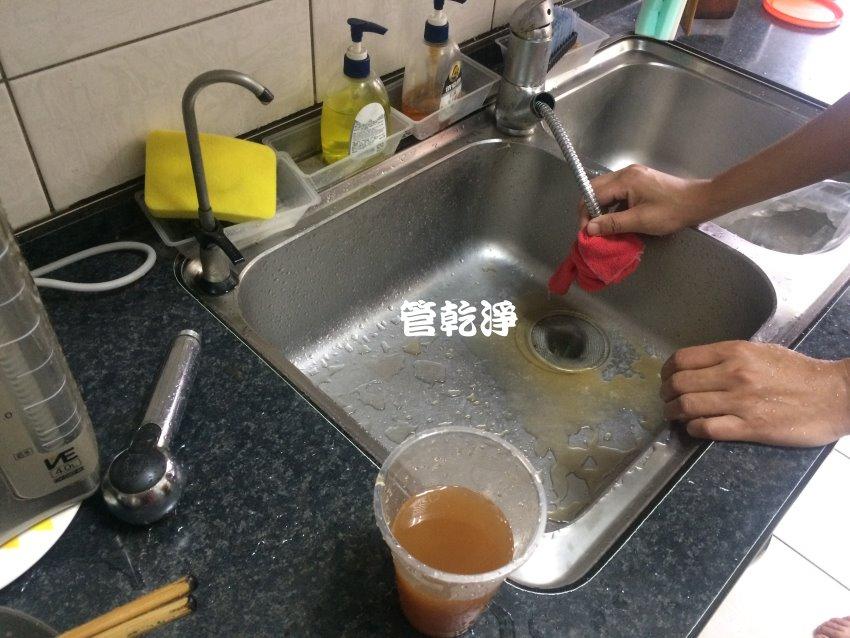 我家的水管麼堵住了?台北 松山 光復北路 洗水管