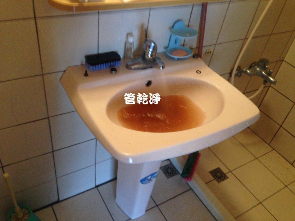 平鎮 龍德路 洗水管 (熱水管生鏽)